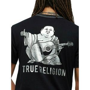 True Religion Men's Buddha Tee T-Shirt